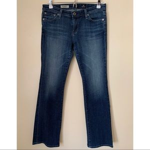 AG • 28R • The Angelina Petite Bootcut Denim Jeans
